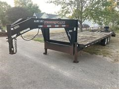2004 Trailerman Hired Hand T/A Flatbed Trailer