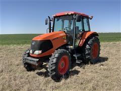2016 Kubota M100X DTC 4WD Tractor