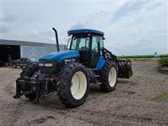 2000 New Holland TV140 4WD Tractor