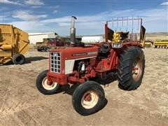 1973 International I574-RC 2WD Tractor (INOPERABLE)