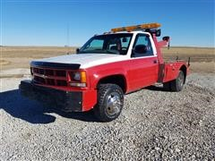 1998 Chevrolet Cheyenne K3500 4x4 Dually Wrecker