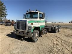 1986 Ford LN8000 T/A Cab & Chassis
