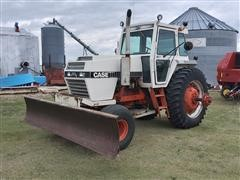 1980 Case 2590 2WD Tractor W/Blade