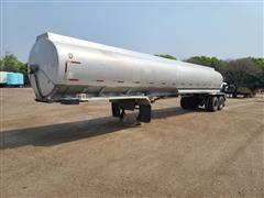 1980 Custom Aluminum T/A Fertilizer Tanker Trailer