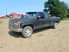 1989 Chevrolet 1500 4x4 Extended Cab Pickup