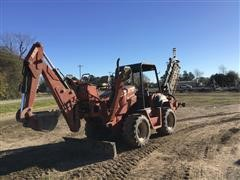 2002 DitchWitch RT90 4x4 Trencher W/Backhoe