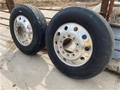 BF Goodrich ST230 11R24.5 Truck Tires And Rims
