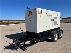 2013 Caterpillar XQ100-6 100kw Diesel Powered Portable Generator