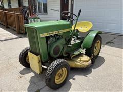 1965 John Deere 110 Lawn Tractor