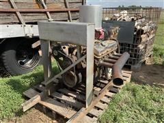 Chevrolet 454 Gas Power Irrigation Engine