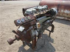 Deutz/Torpedo T6L912MDSI 6 Cyl Air Cooled Engine & PTO For Parts