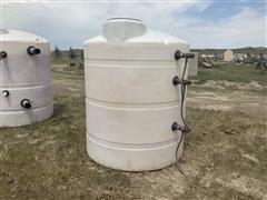 1000 Gallon Poly Storage Tank