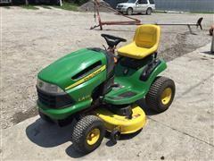 """2008 John Deere LA125 Lawn Tractor W/42"""" Deck"""