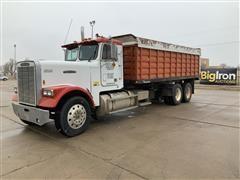 1987 Freightliner FLC120 T/A Grain Truck