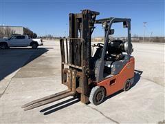 2014 Toyota 8FGCSU20 Warehouse Forklift
