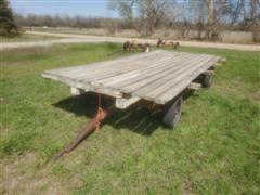 4-Wheel Hay Trailer