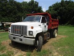 1990 GMC TopKick C7000 S/A Dump Truck
