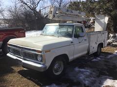 1977 Ford F250 Bucket Truck