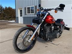 2012 Harley Davidson Wide Glide FXDWG Motorcycle
