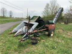 New Idea 327 2 Row Corn Picker