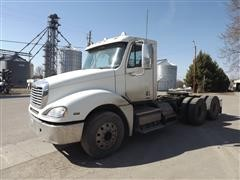 2010 Freightliner Columbia 120 T/A Day Cab Truck Tractor