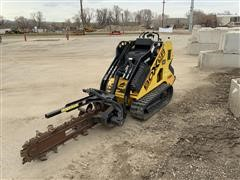 Boxer 530X Stand-On Skid Loader W/Attachments