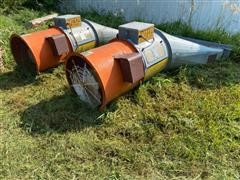 Caldwell F24-101 Aeration Fan With Transition