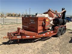 2014 DitchWitch FX30 T/A Vacuum Trailer