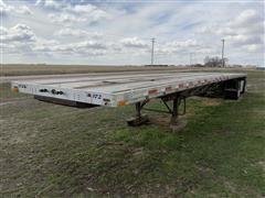 1997 Transcraft Eagle W2 48x96 T/A Flatbed Trailer