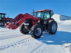 2013 Case IH PUMA 145 MFWD Tractor W/L765 Loader