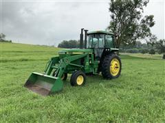 1991 John Deere 4055 2WD Tractor