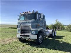 1976 International Transtar 2 T/A Cabover Truck Tractor