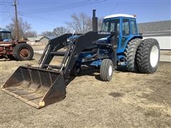 1983 Ford TW-35 2WD Tractor W/Loader