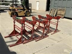 B&B 3806/3807 Mega Tall Pipe Roller/Jack Stands