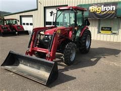 2016 Mahindra 2565 4WD Compact Utility Tractor W/Loader