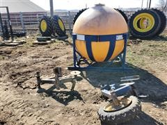 Blu-Jet Fertilizer Tank And Stand