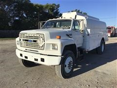 1991 Ford F800 S/A Fuel Truck