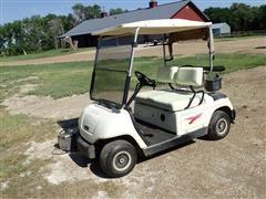 2000 Yamaha G19E Battery Powered Golf Cart