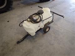 Master 25 Gallon Pull Type Lawn Sprayer