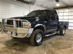 2003 Ford F350XLT Super Duty 4x4 Diesel Pickup