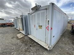 2006 Stamford 225 Kw Skid Mounted (Housed) Generator Set W/CAT C-9 Turbo-Diesel Power Unit