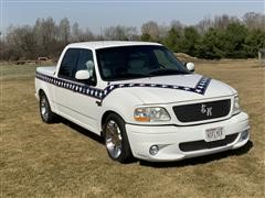 2002 Ford F150 Evel Knievel Gladiator Collectors Edition Pickup