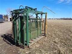 Big Valley Manual Squeeze Chute