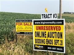 Tract 3:  80+/- Acres Platte County, NE