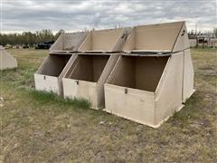 Fiberglass Huts