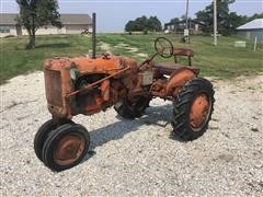 1948 Allis-Chalmers C 2WD Tractor