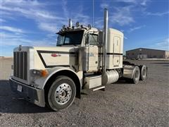 1990 Peterbilt 379 T/A Truck Tractor W/Engine Issues