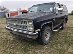 1982 Chevrolet K10 Blazer