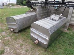 Stainless Steel 300 Gallon Tanks
