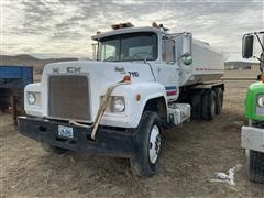 1985 Mack R688ST T/A Water Truck (INOPERABLE)